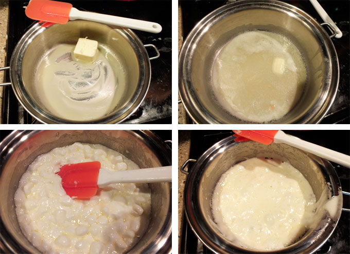 How to make Marshmallow Mixture for the Rice Krispie Treats