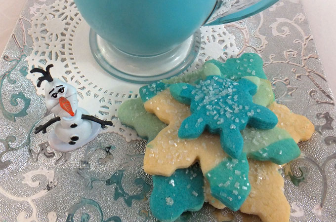 Serve with our Frozen Factals Sugar Cookies