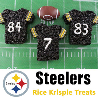 Pittsburgh Steelers Rice Krispie Treats