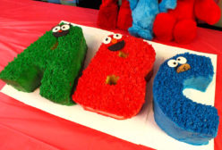 ABC Sesame Street Cakes