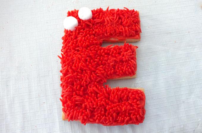 Mini Marshmallows for making Elmo's Face