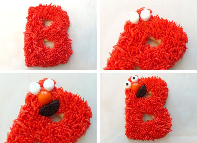 How to make an Elmo Face