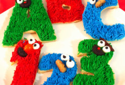 Sesame Street Frosted Sugar Cookies