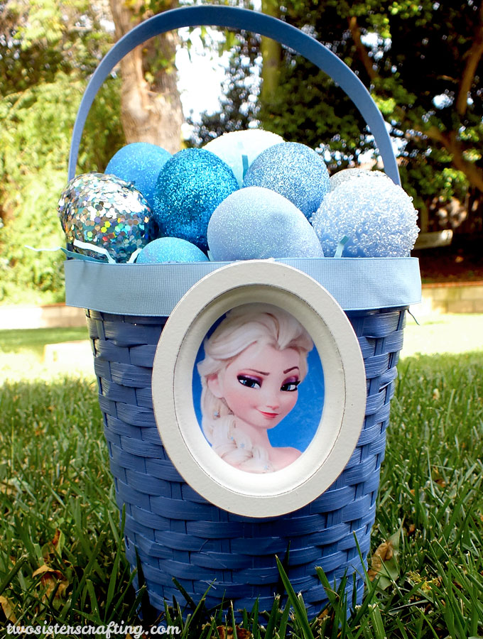 Frozen Easter Basket and Easter Eggs