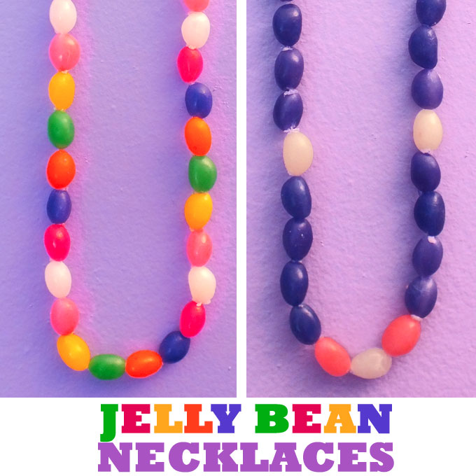Jelly Bean Necklaces Two Sisters Crafting