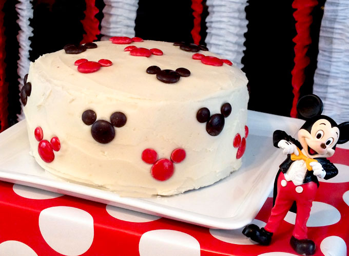 Birthday Cake Pictures Of Mickey Mouse