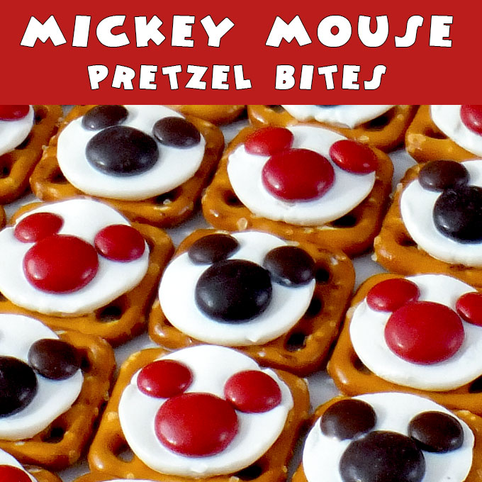 Mickey Mouse Pretzel Bites Two Sisters Crafting