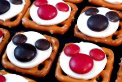 Mickey Mouse Pretzel Bites