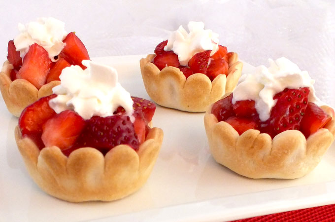 Mini Strawberry Pies Two Sisters