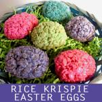 Rice Krispie Easter Eggs