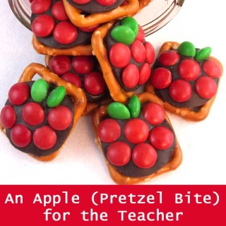 Apple Pretzel Bites