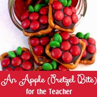 Apple Pretzel Bites