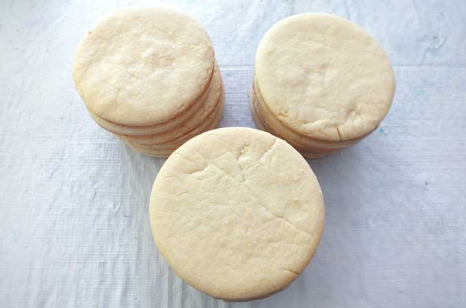 Best Sugar Cookies in circle shape