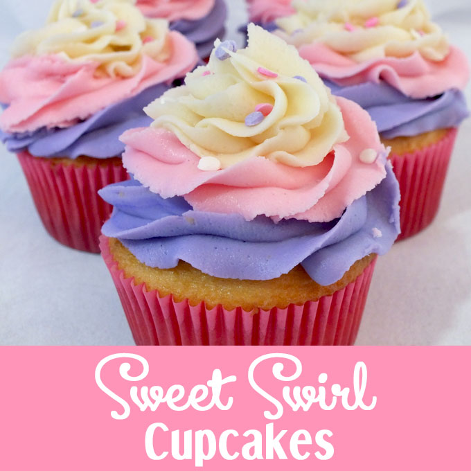 Sweet Swirl Cupcakes Two Sisters Crafting