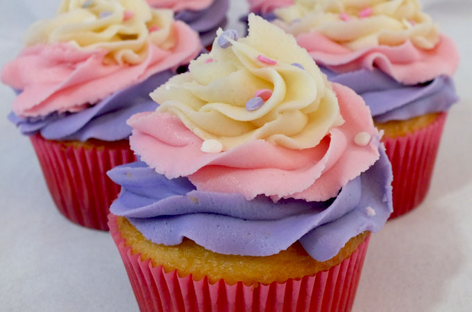 Sweet Swirl Cupcakes Two Sisters