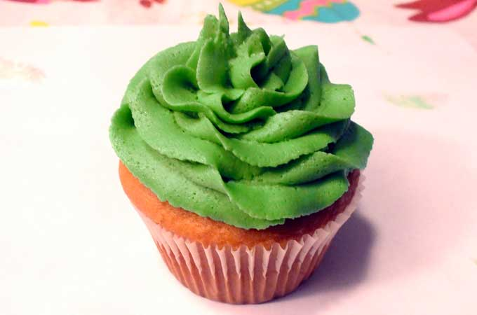 Swirl Frosting for Tinkerbell Dress