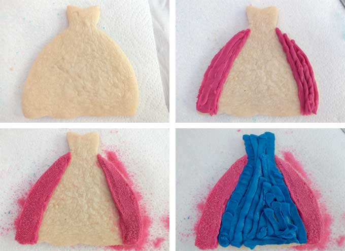 How to decorate Frozen Frosted Sugar Cookies