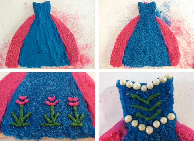 How to decorate Anna Frosted Sugar Cookies