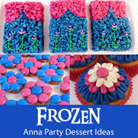 Anna Party Dessert Ideas