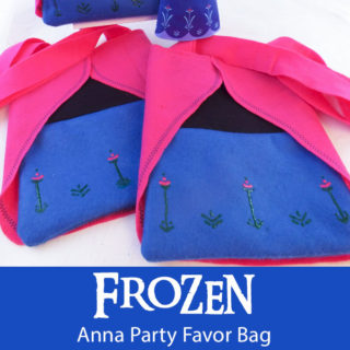 Frozen Anna Party Favor Bag