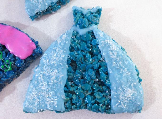 Frozen Elsa Rice Krispie Treats Two Sisters