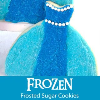Frozen Frosted Sugar Cookies