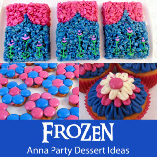Frozen Anna Party Desserts