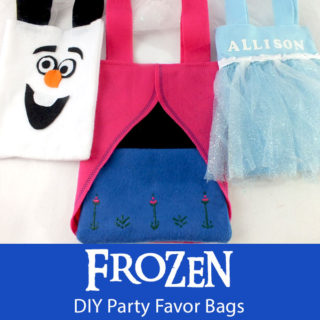 Frozen Party Favor Bags