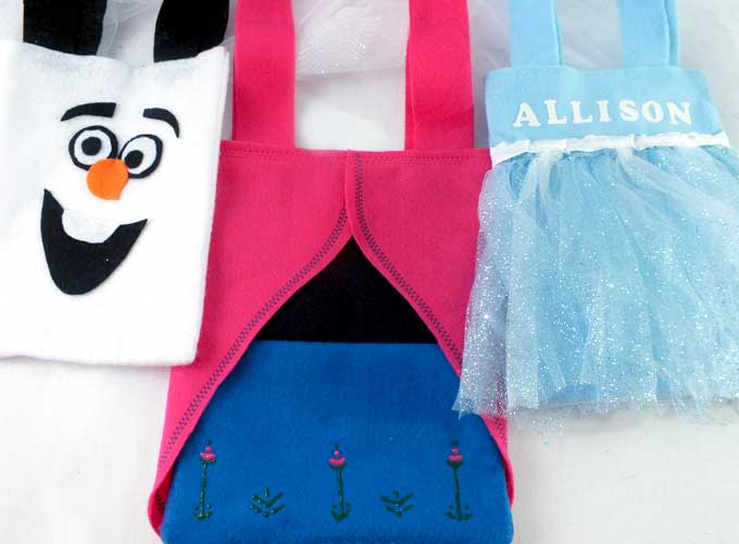Our Frozen Party Favor Bags Are Adorable Fun And So Easy To Make Say