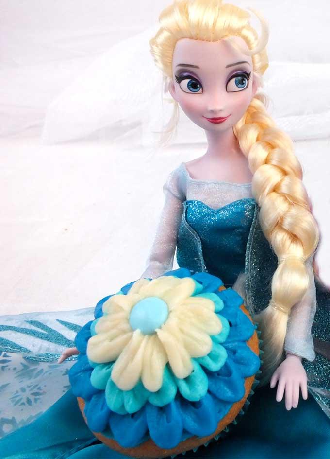 Frozen Elsa Party Desserts Two Sisters