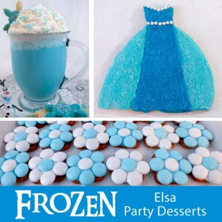 Frozen Elsa Party Desserts
