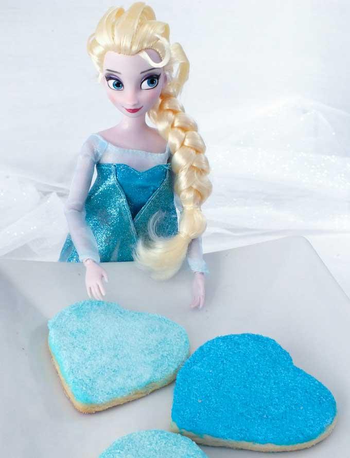 Elsa Birthday Party Cake