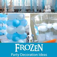 Frozen Party Decoration Ideas