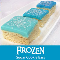 Frozen Sugar Cookie Bars