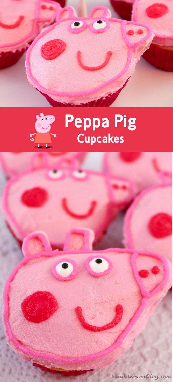 Peppa Pig Cupcakes Two Sisters