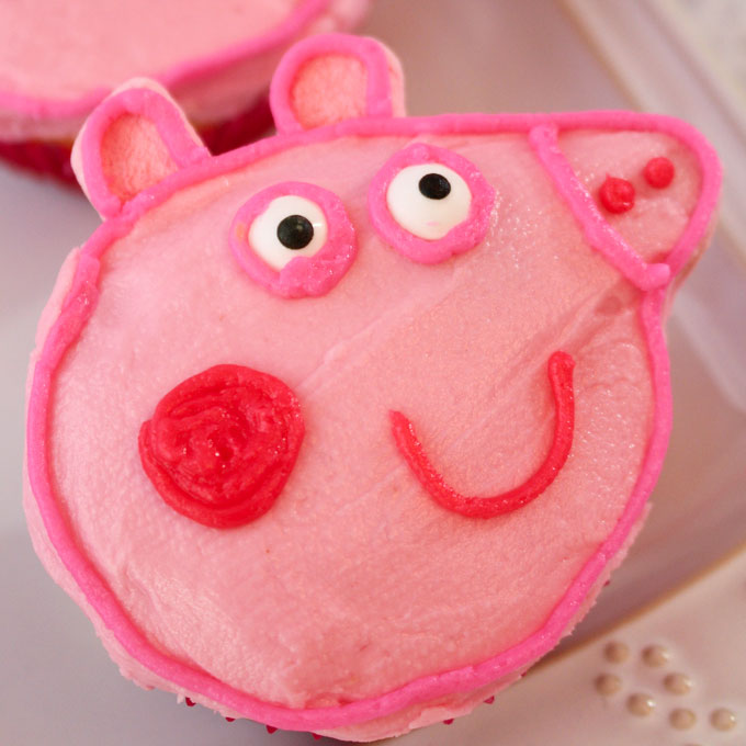 These Peppa Pig Cupcakes Are The Perfect Dessert For A Birthday Party Kids