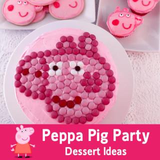 Peppa Pig Party Dessert Ideas