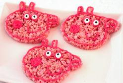 Peppa Pig Rice Krispie Treats