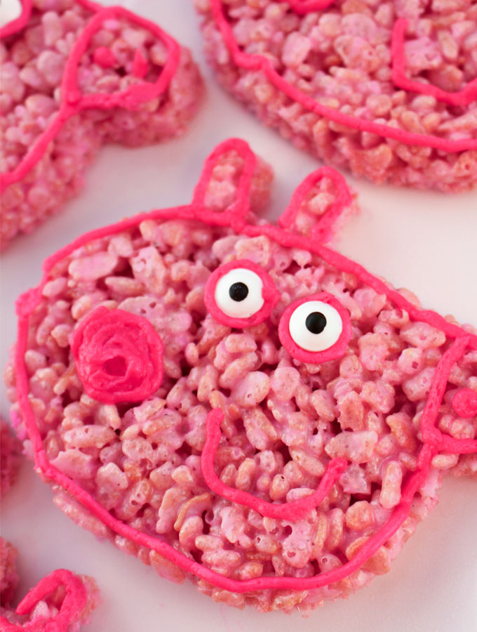 Peppa Pig Party Dessert Ideas Two Sisters