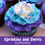 Sprinkles and Swirls Cupcakes