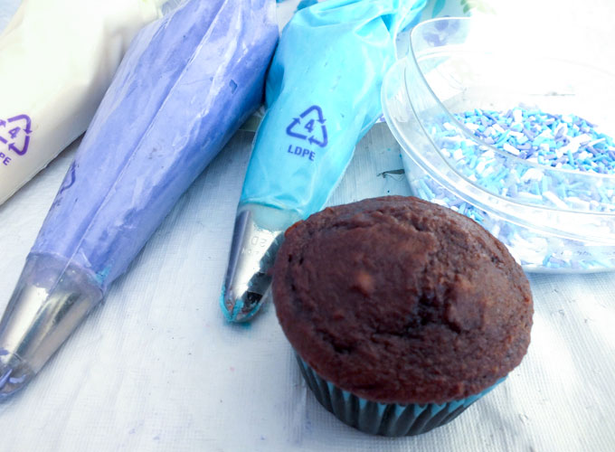 Sprinkles and Swirls Cupcakes ingredients