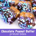 Chocolate Peanut Butter Pretzel Bites Peanut Butter Chocolate Heart ...