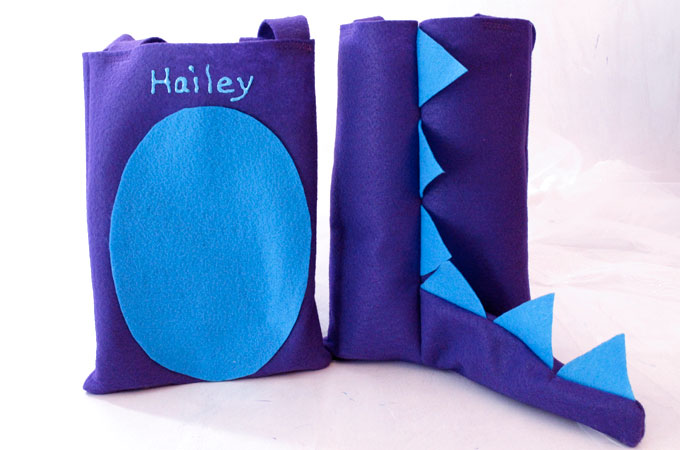 Dinosaur Party Favor Bags Two Sisters