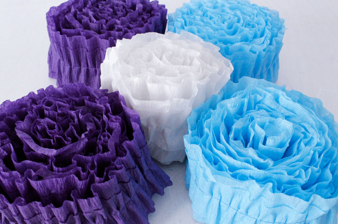 How To Make Ruffled Streamers Two Sisters