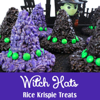 Witch Hats Rice Krispie Treats