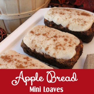 Apple Bread Mini Loaves