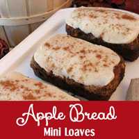 Apple Bread Mini Loaves