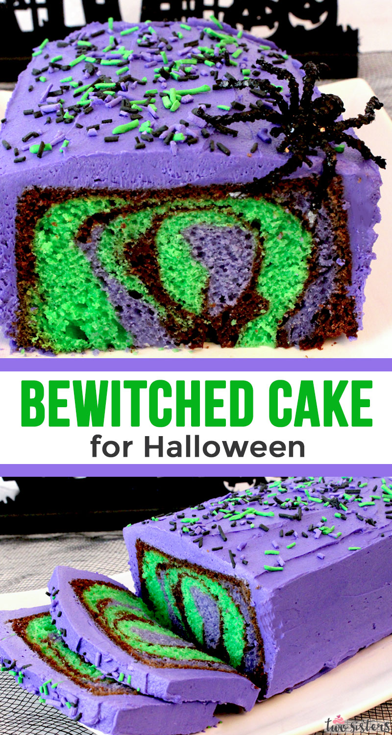 Bewitched Cake Two Sisters