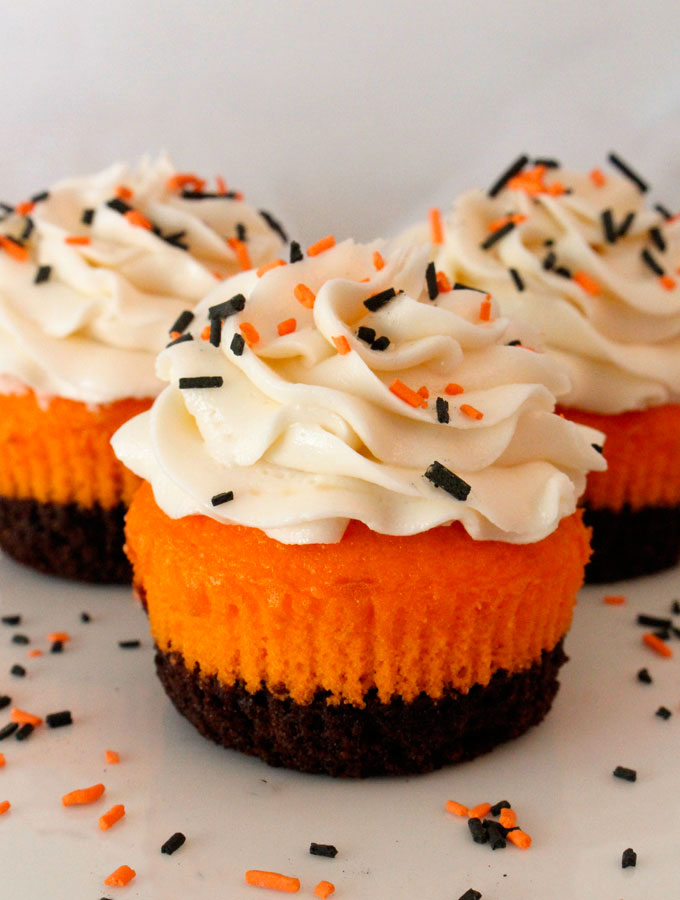 Brownie cupcakes two sisters Halloween cupcakes