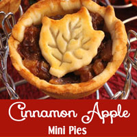 Cinnamon Apple Mini Pies